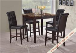 ASTER SET (1+4)FAUX MARBLE TOP